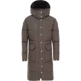 The North Face Down Sierra Long Parka Women new taupe green